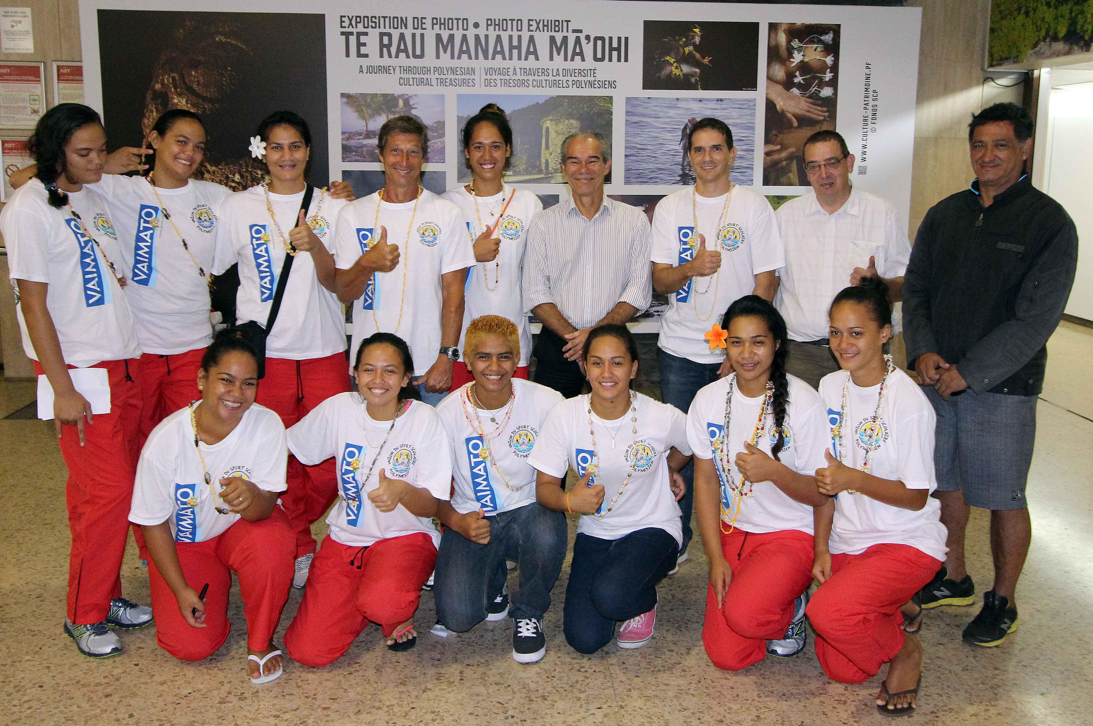 Volley-ball : des cadettes polynésiennes au championnat du monde scolaire