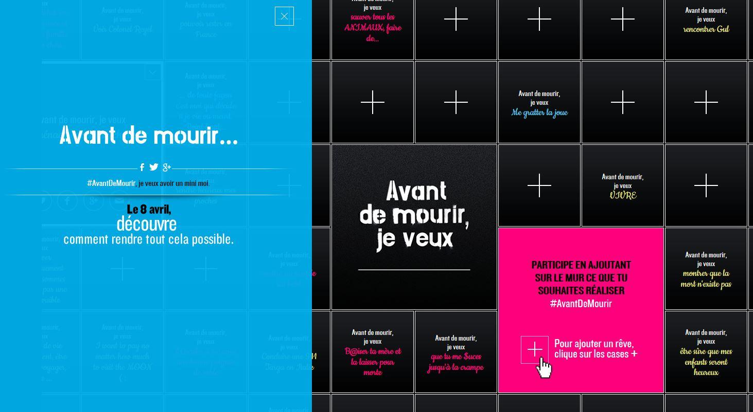 """""""Avant de mourir, je veux ... """", une campagne de la Prévention routière vers les jeunes"""