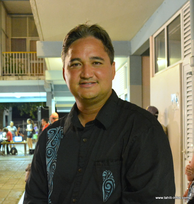 Richard Tuheiava, l'un des deux sénateurs polynésiens