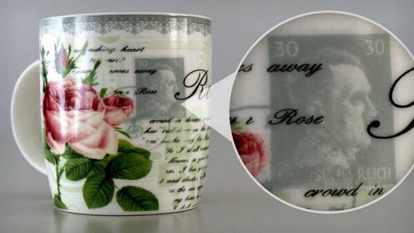 Allemagne: des tasses avec un portrait de Hitler mise en vente par erreur
