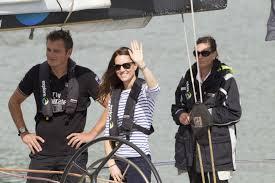 William et Kate, en course l'un contre l'autre dans la baie d'Auckland