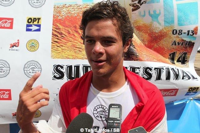 PAPARA SURF FESTIVAL – doublé Pro Junior / WQS pour Mateia Hiquily !