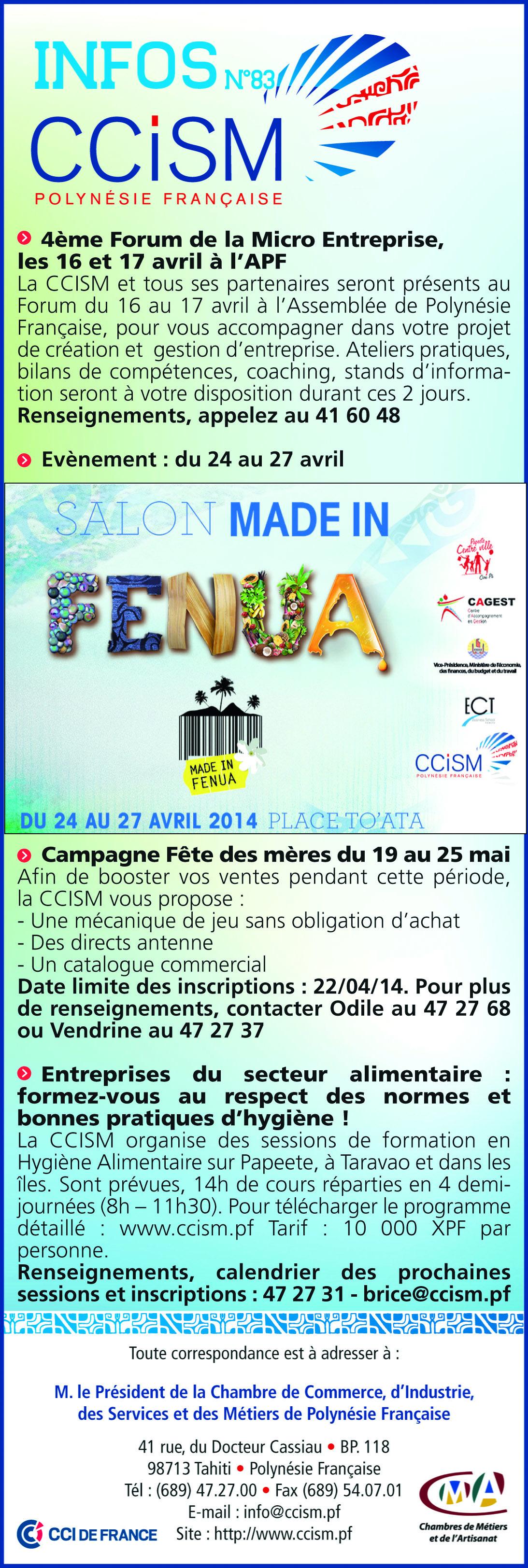 Infos CCISM N°83