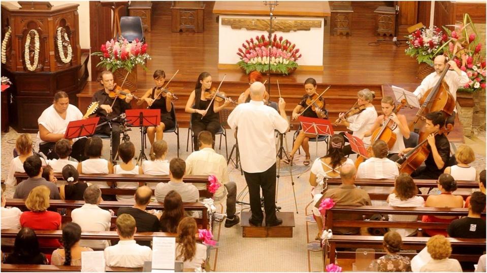 Concert instumental et vocal des choeurs de l'université