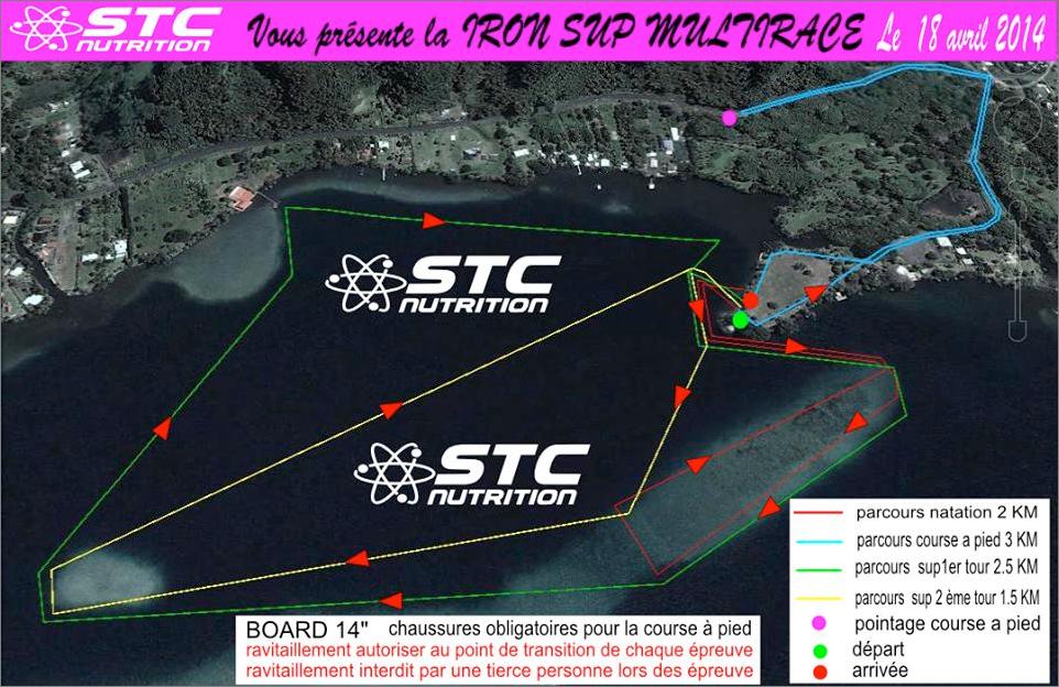 Compétition Iron Sup Race ce week-end!