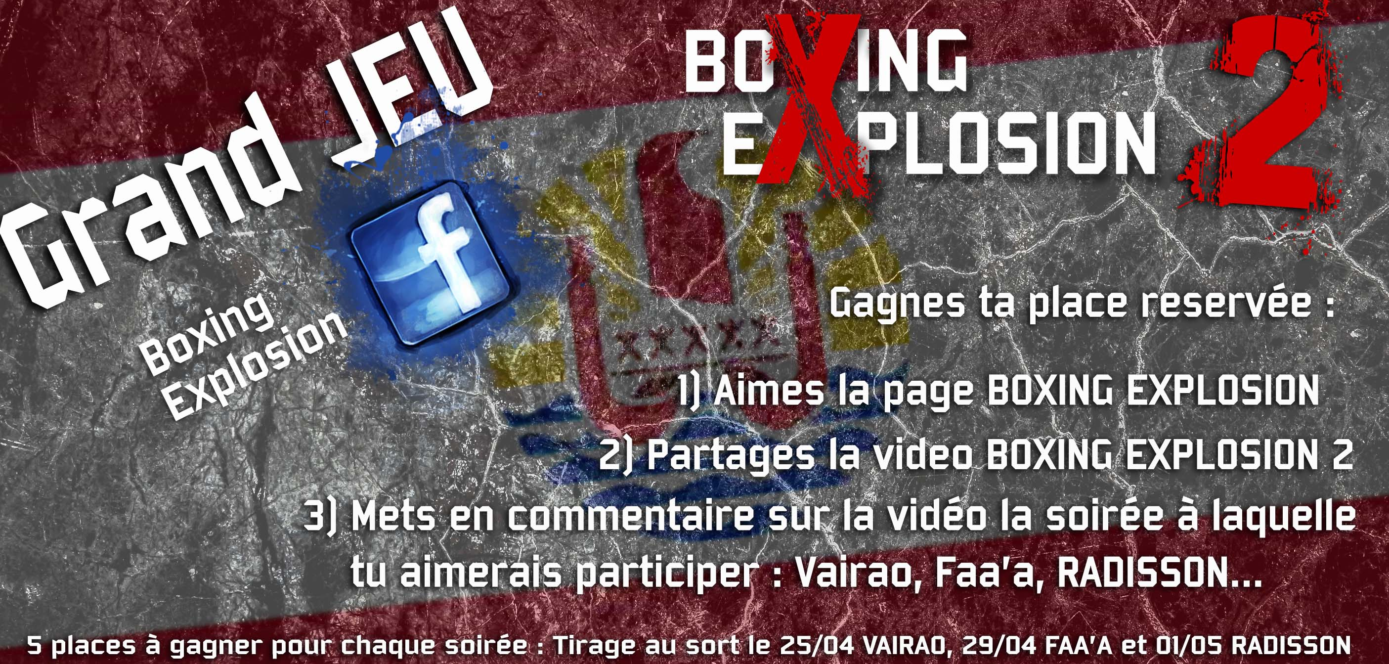 Tournoi International de Boxe: Boxing Explosion 2