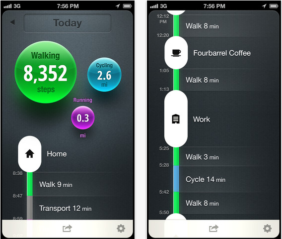 Facebook achète l'application Moves qui surveille l'activité physique