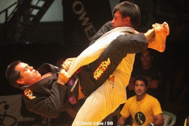 Hoanui Vanaa a dominé son adversaire en finale - de 94 kg