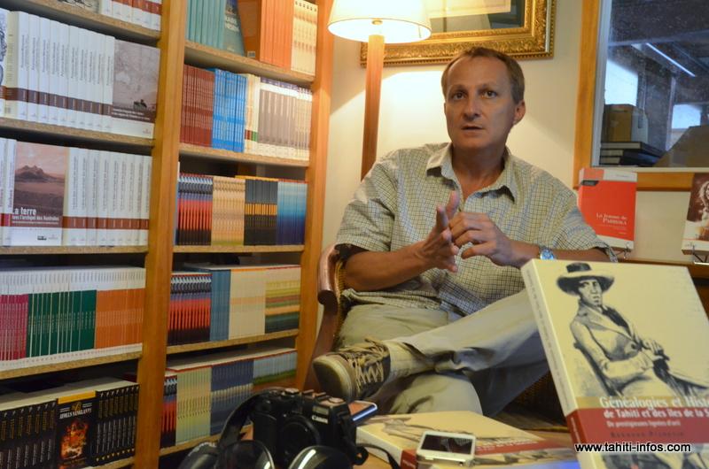 Bruno Saura, anthropologue, maître de conférences à l'Université de Polynésie française