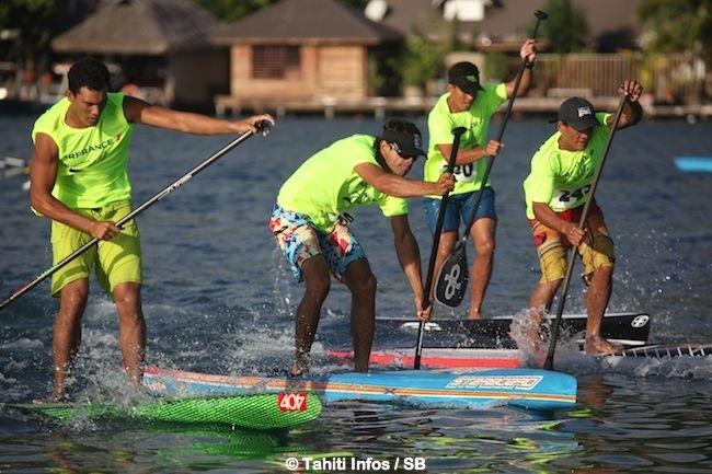 SUP – Air France Paddle Festival : Bruno Tauhiro gagne deux courses sur trois !