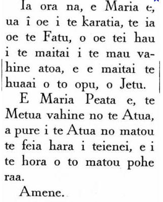 la bible en tahitien