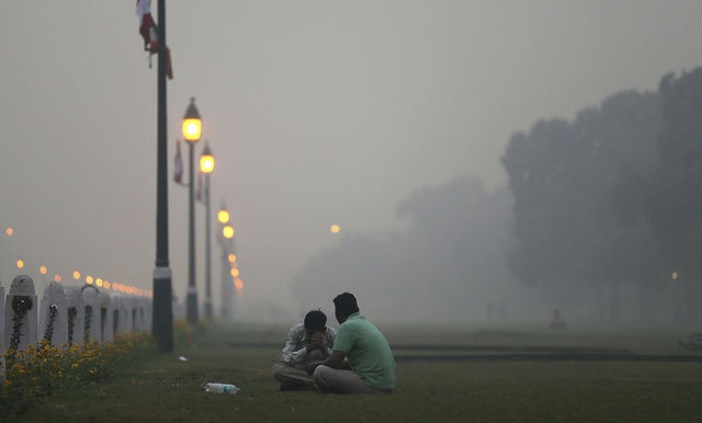 L'Inde reconnaît que Delhi est aussi polluée que Pékin
