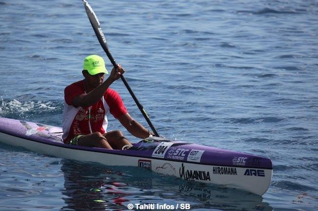 Hiromana Florès, le N° 1 du kayak Polynésien
