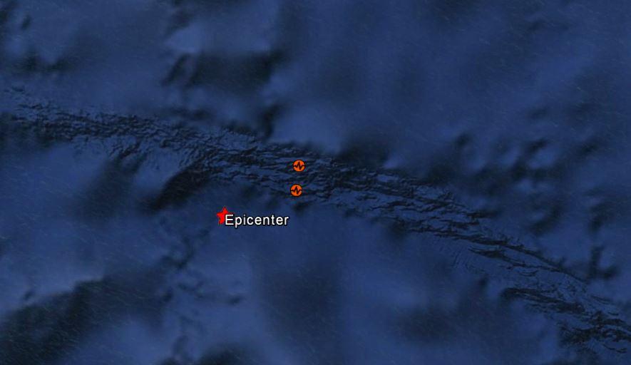 Séisme de magnitude 6,6 au Sud de la Micronésie