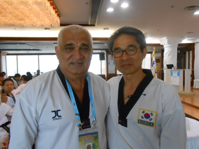 Robert Raoulx décroche sa qualification de WTF Coach Poomsae