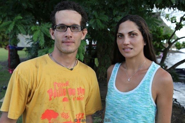 Stanley Bocher et Maiana Mu, deux jeunes dynamiques