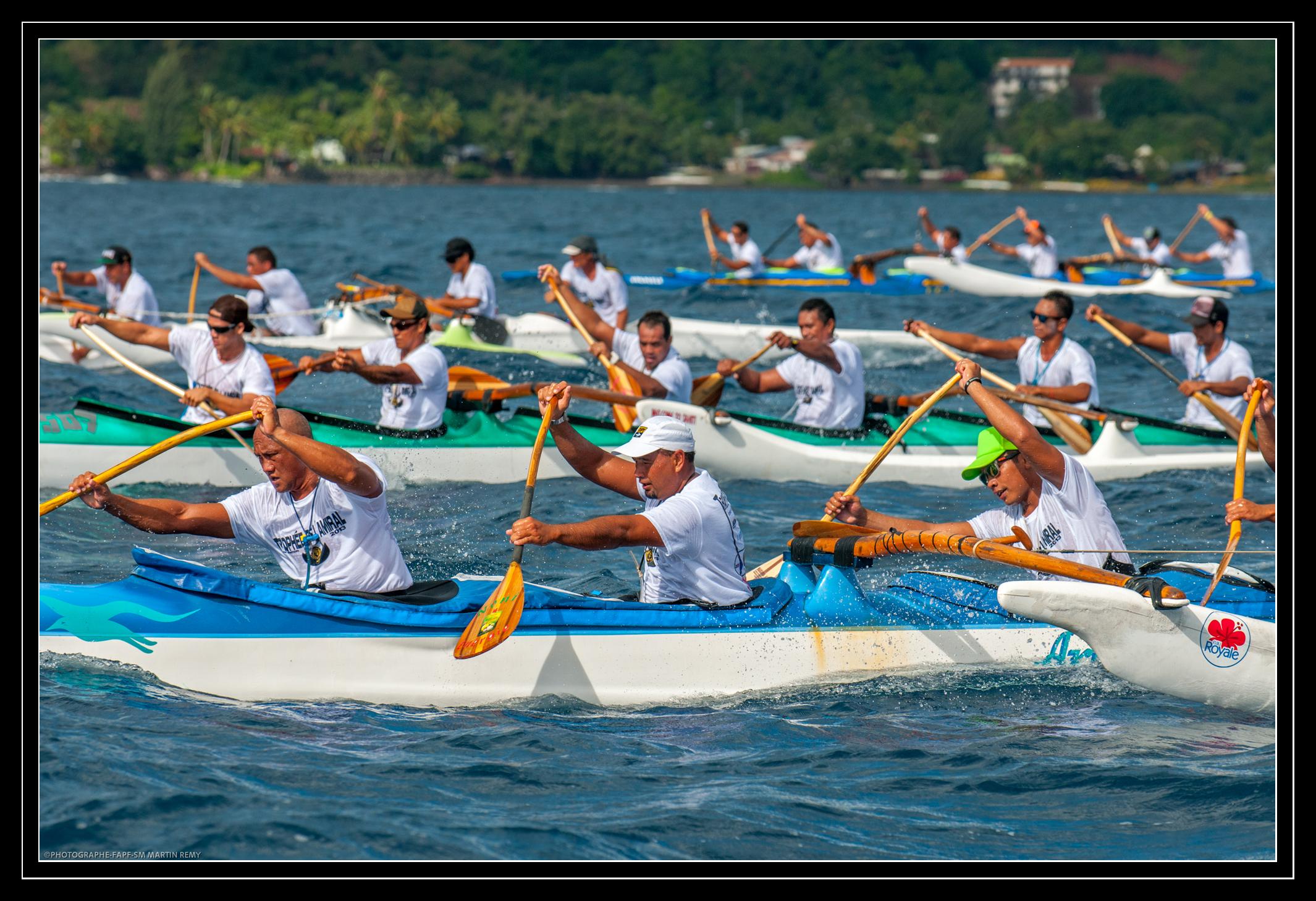 Course de Va'a – « Trophée de l'amiral 2014» ce samedi 31 mai