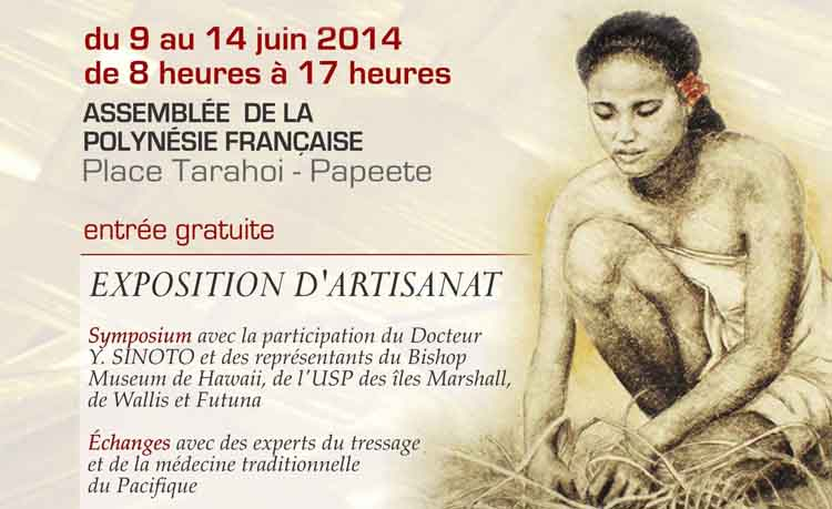 Une exposition sur l'art traditionnel du tressage du 9 au 14 juin.
