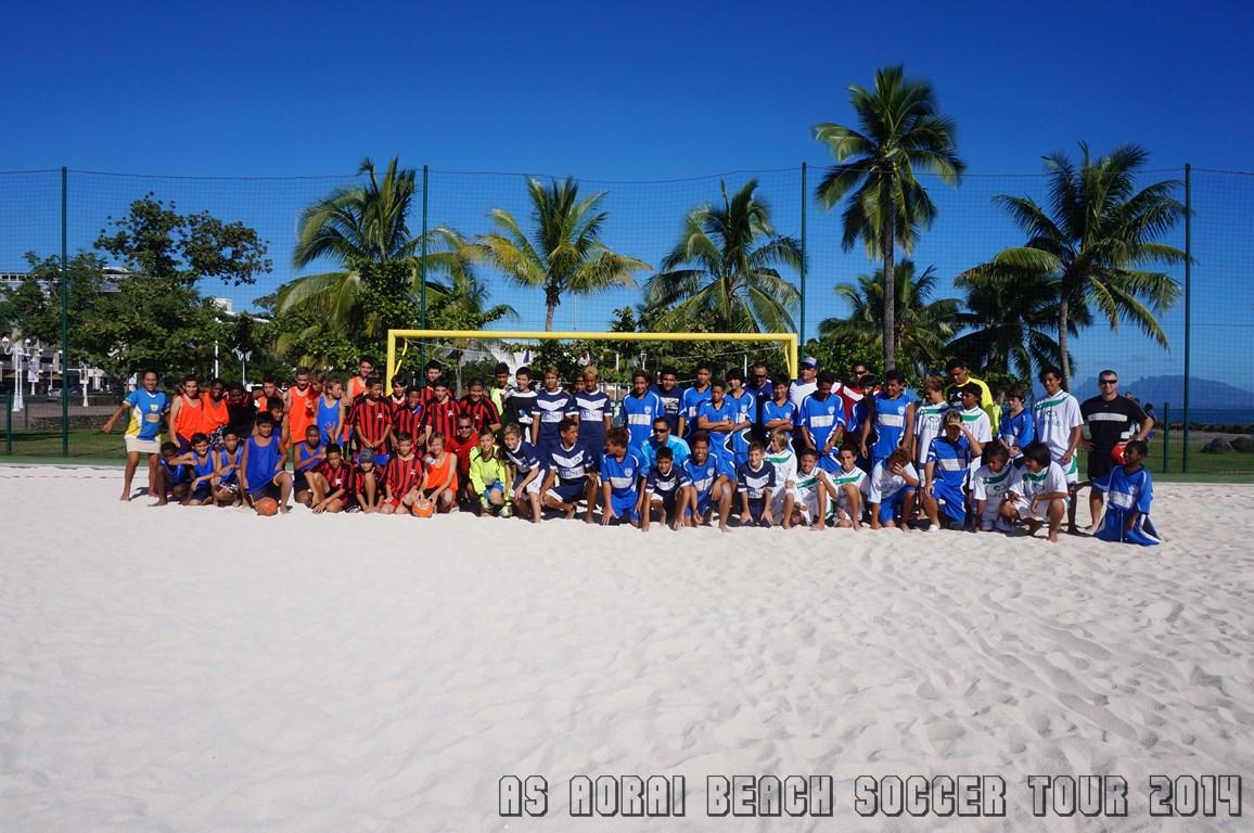 AS Aorai Beach Soccer Tour 2014