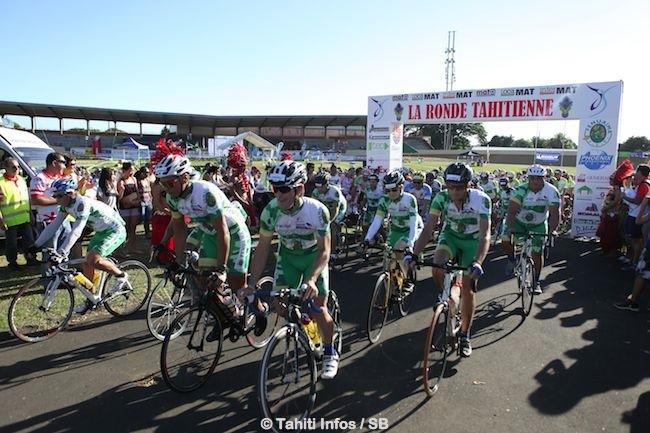 Plus de 400 coureurs au départ de cette 'Ronde Tahitienne'