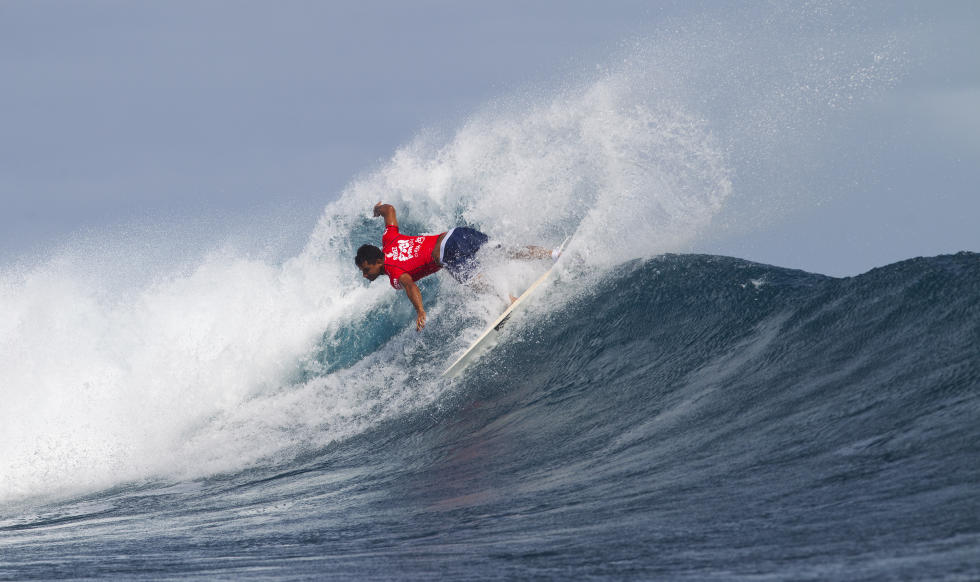 Michel Bourez à Fidji © ASP Kirstin