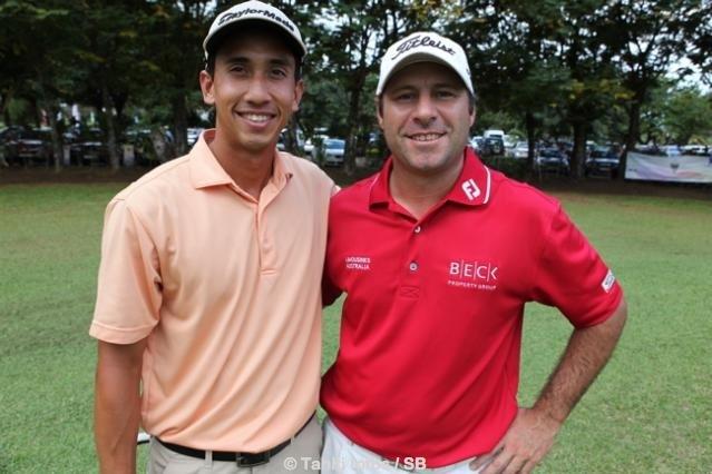 Guillaume et Ryan en 2012