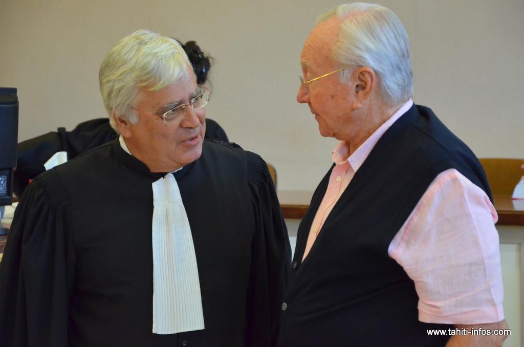 Des peines requises contre G. Flosse et R. Wan dans le procès Anuanuraro