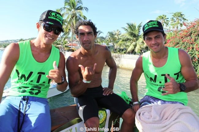 Patrice, Georges et Raihei