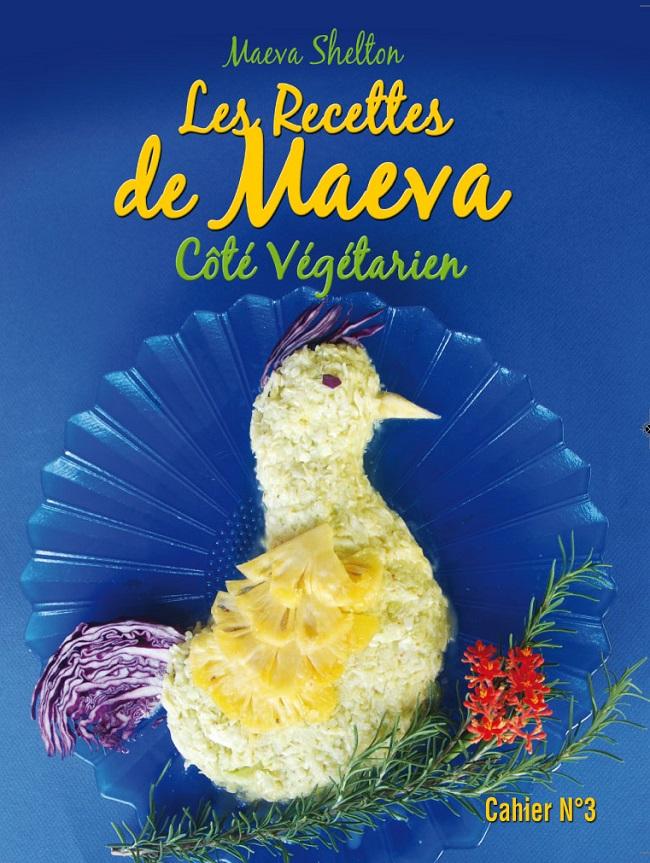 Maeva Shelton et ses recettes végétariennes créatives