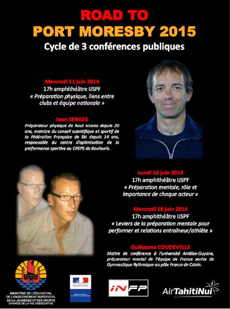 """Conférence publique sur la  """"Préparation physique, relations entre clubs et équipe nationale"""" par Jean SENGES ce mercredi 11 juin"""