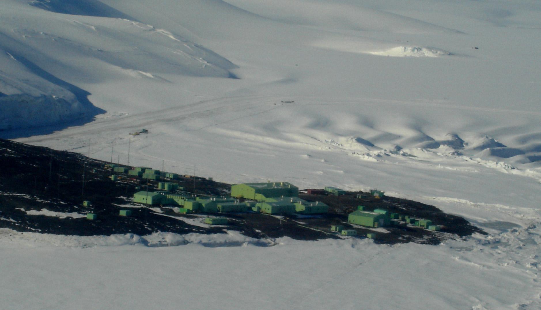 Base en Antarctique : Wellington rénove