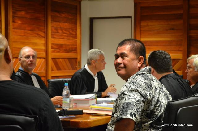 Tutu Manate, mardi 17 juin lors de l'audience de la chambre de l'instruction
