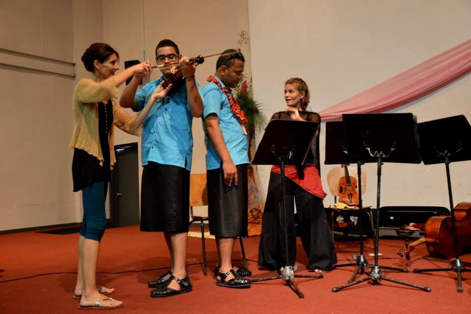 Fête de la musique 2014 : Fidji donne le coup d'envoi