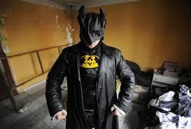 """Un """"Batman de Bratislava"""" contre la pub illégale"""