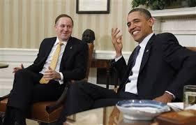 Barack Obama veut aller en Nouvelle-Zélande