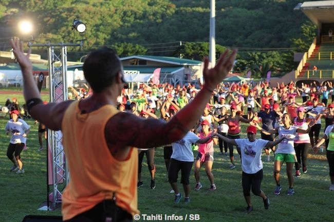 Anniversaire Vodafone: belle affluence pour le 'Zumba Summer Day' !