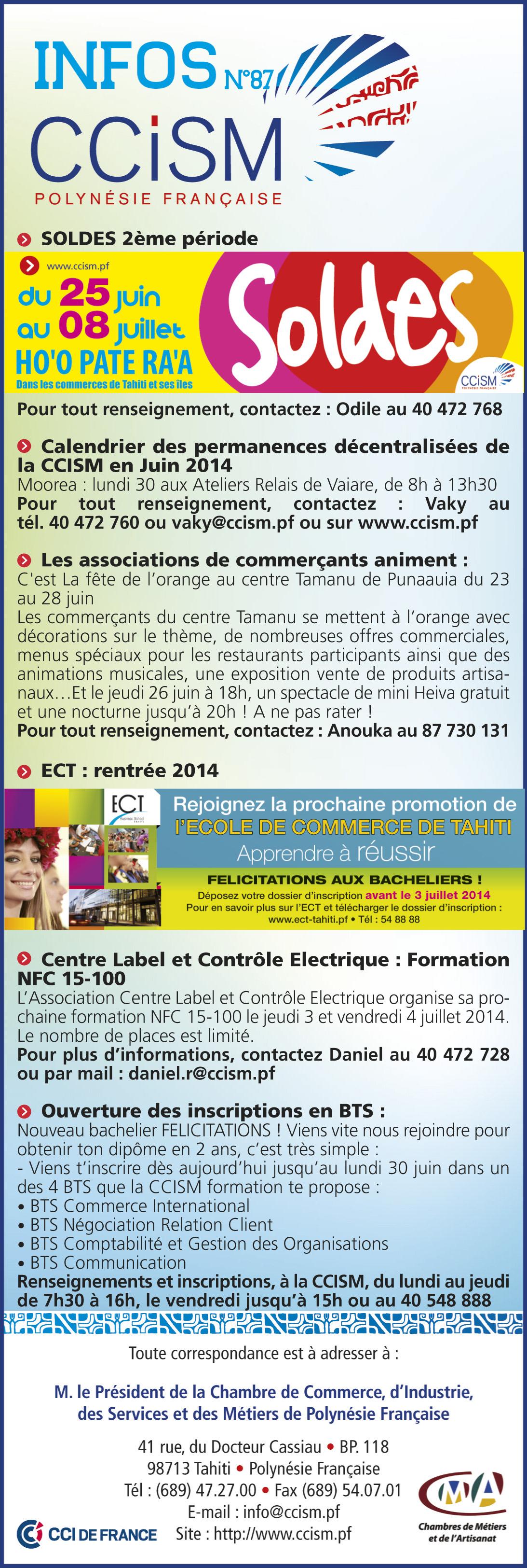Infos CCISM N°87