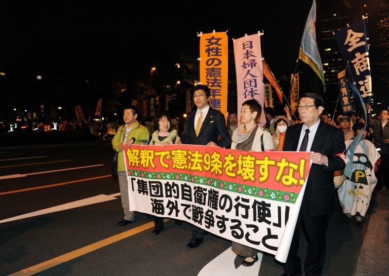 Japon: le gouvernement révise le sens de la Constitution pour élargir les missions de l'armée