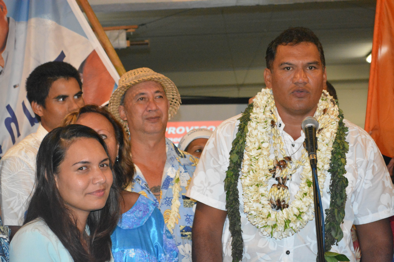Remerciements de M. Tauhiti NENA