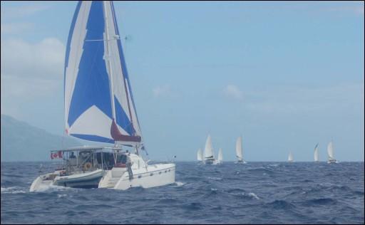 9ième édition de la Tahiti Moorea Sailing RDV