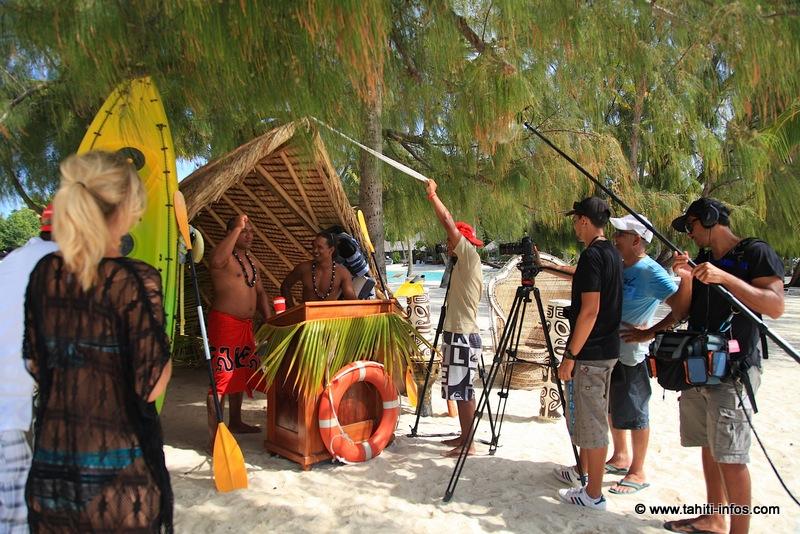 Le tournage de Rai et Mana