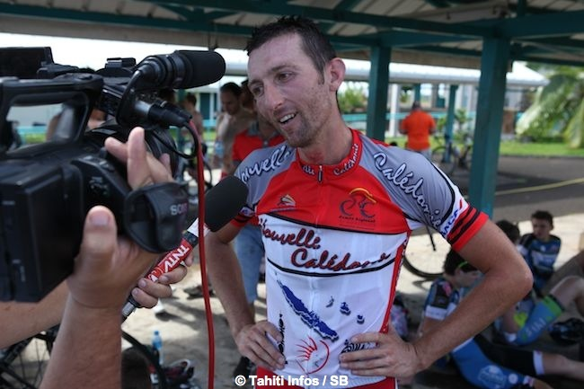 Arnaud Boucher a gagné l'étape du jour