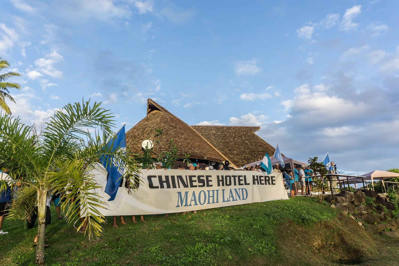 Projet touristique d'Atimaono : Tentative de sabotage d'Oscar TEMARU
