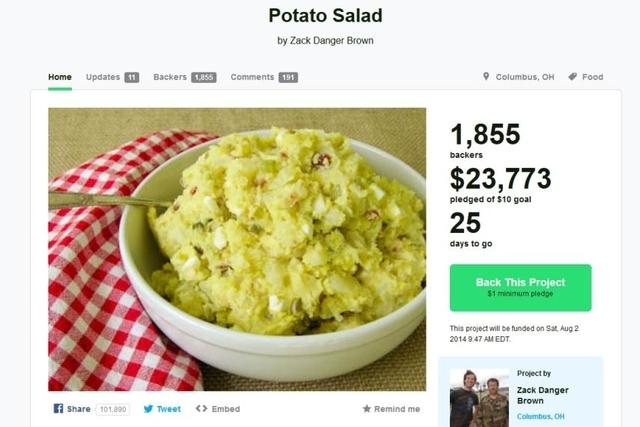 Quand la sphère internet aime la salade de pommes de terre