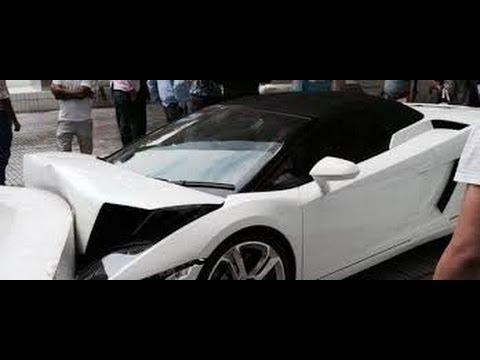 Inde : le voiturier d'un hôtel démolit la Lamborghini d'un client