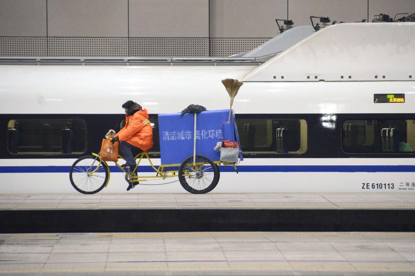 En Chine, les noms des TGV sont à vendre, une marque de poissons assaisonnés a le sien