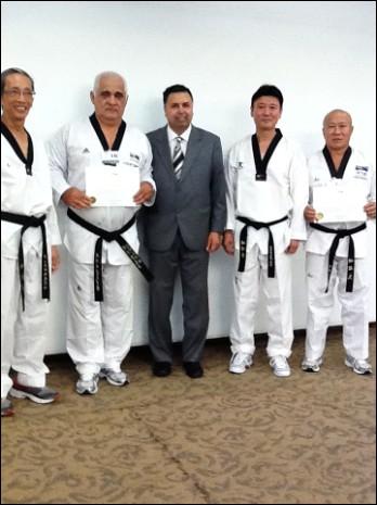 Taekwondo: Deux Polynésiens ont obtenus leur Certificat de Graduation comme Arbitres Internationaux