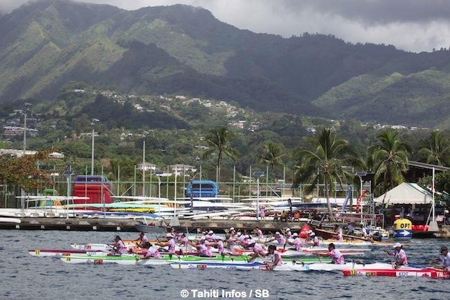 Va'ahine race : une belle journée récréative sous le regard de Tainui