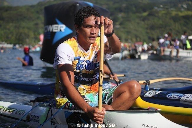 Va'a V1 – 'Te Aito' 2014 : Rete chavire, l'épaule de Steeve lâche et Kévin s'envole ! (Interviews + diaporama)