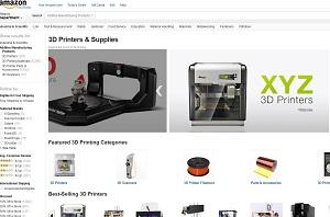 Amazon se lance dans l'impression 3D